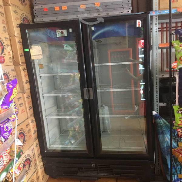 Refrigerador de 2 puertas para negocio