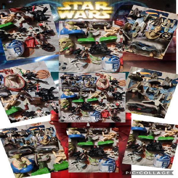 Star wars naves y figuras precio y estado en fotos