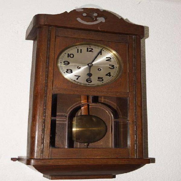 Antiguo reloj aleman kienzle roble 2 cuerdas wong