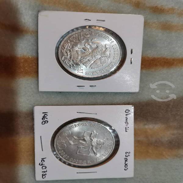 Monedas de los juegos olimpicos