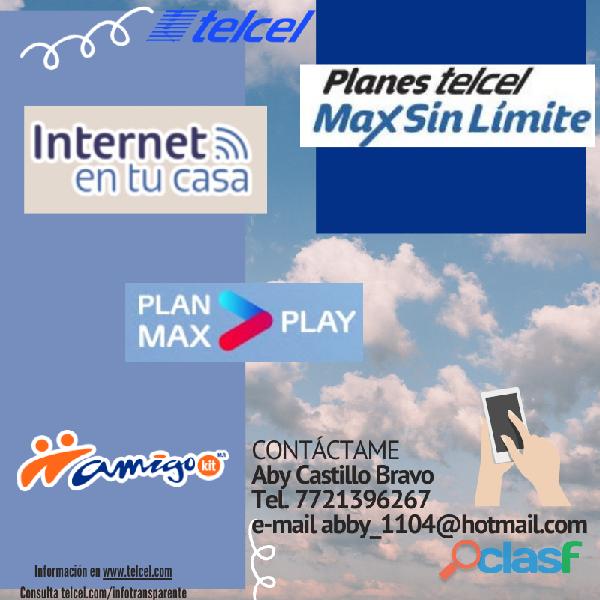 Promociones planes telcel