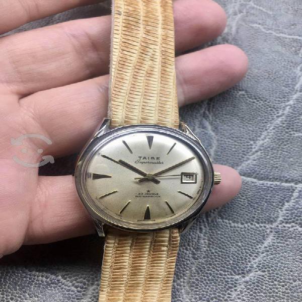 Antiguo reloj suizo supermaster