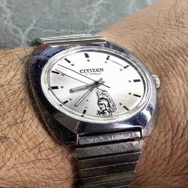 Reloj citizen emperador cuauhtémoc