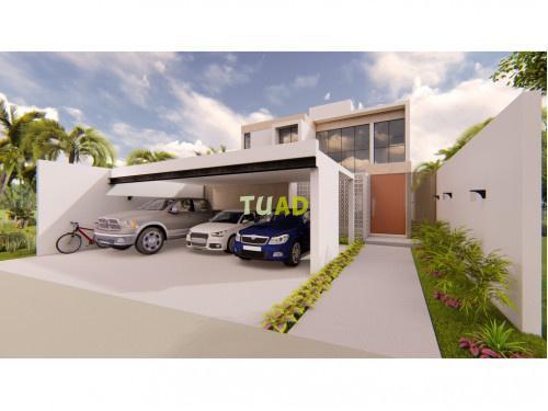 Venta casa en mérida, privada arbórea lote 119