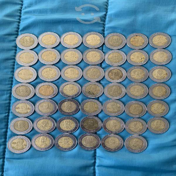 106 monedas conmemorativas 5 pesos bicentenario