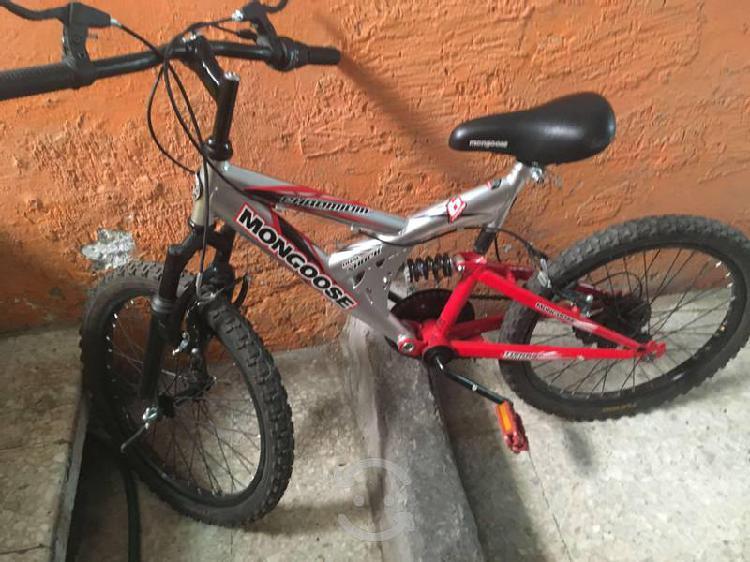 Bicicleta montaña mongoose niños(as) 21 vel.