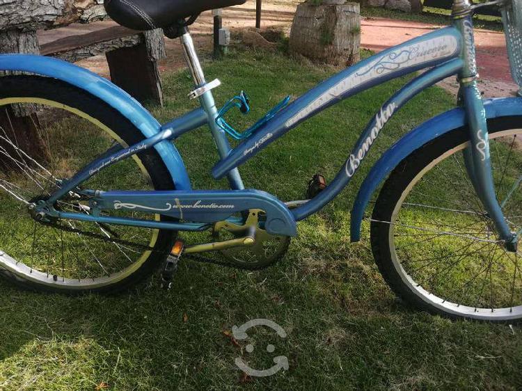 Bicicleta tipo cruiser benotto