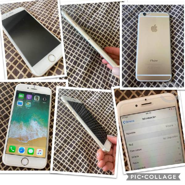 Iphone 6 gold, 64g excelente estado