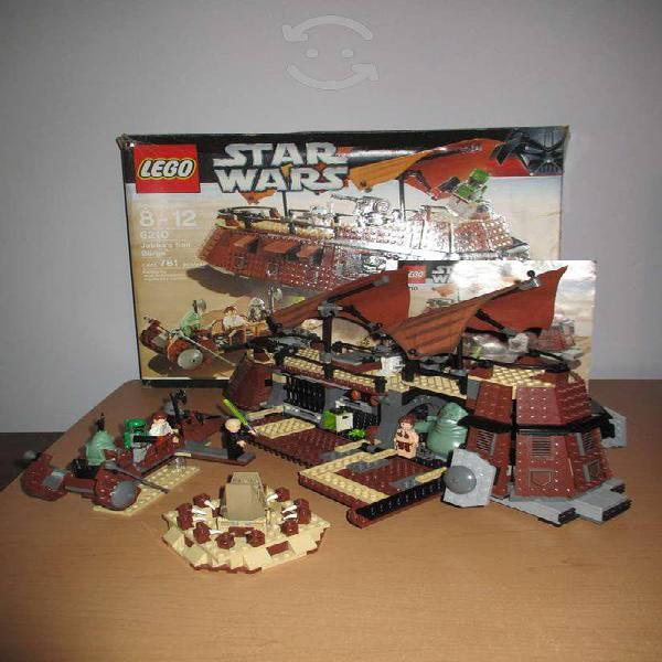 Lego star wars barcaza de jabba 6210