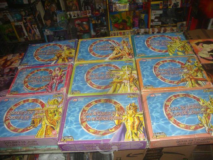 Pack saga de poseidon 9 juguetes retro