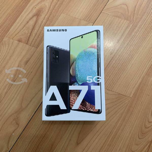 Samsung a71 nuevo ! caja y accesorios