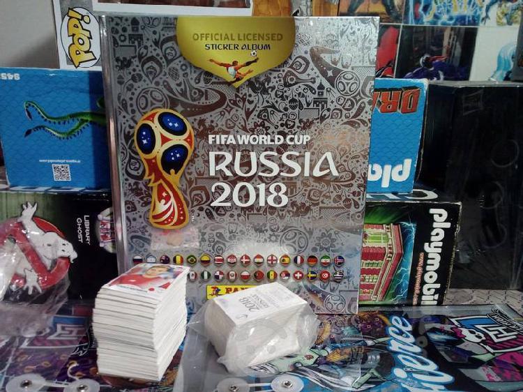 Album rusia 2018 completo panini