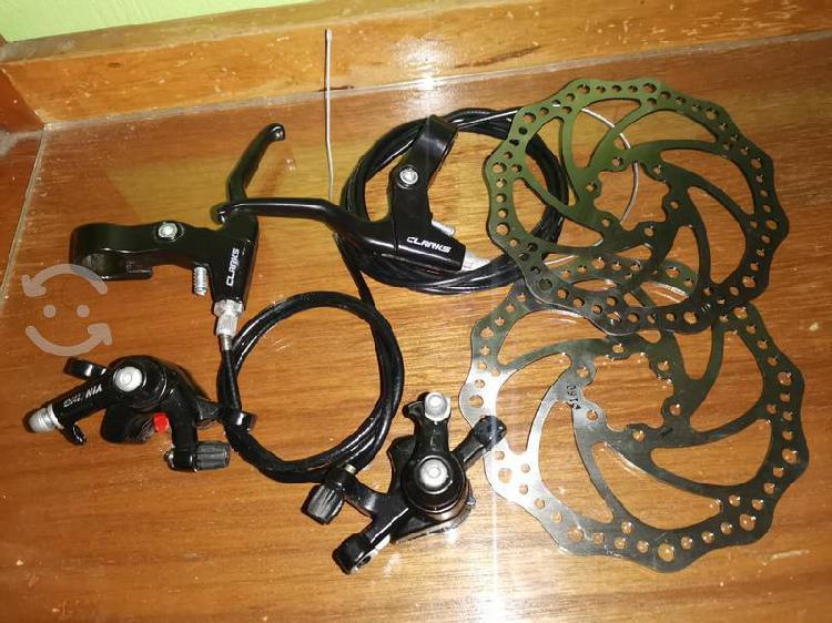 Frenos de disco para bicicleta seminuevos