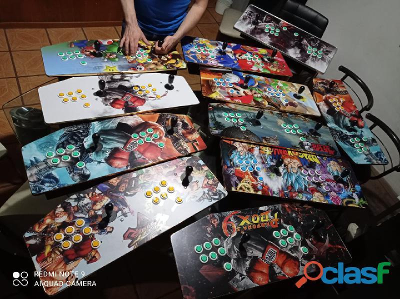 3288 juegos árcade – tableros – maquinitas – consolas – palancas y botones