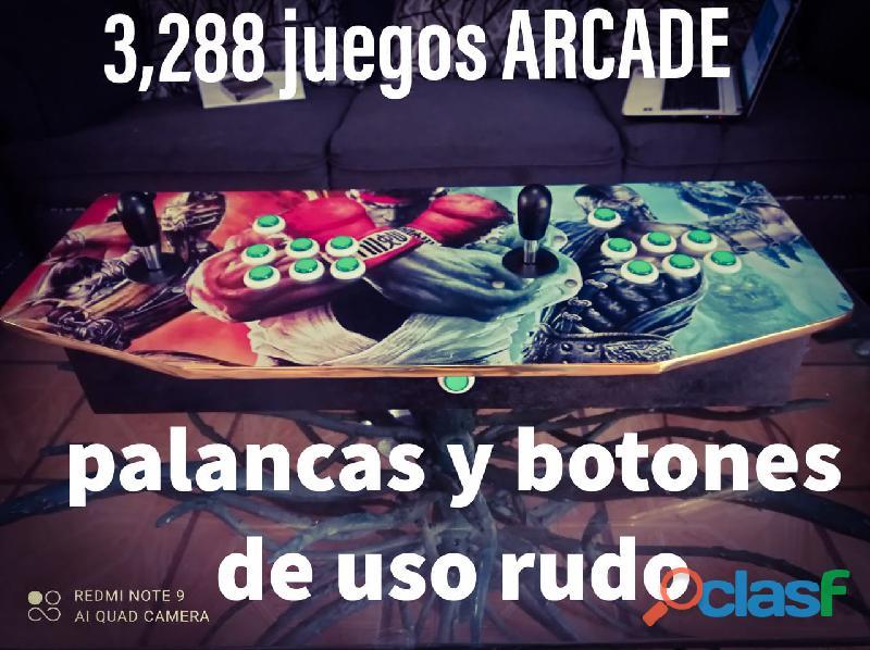 3288 Juegos Árcade – Tableros – Maquinitas – Consolas – Palancas y Botones 1