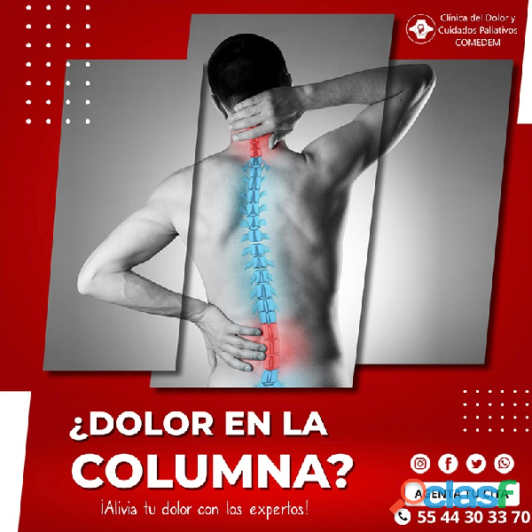 ¿dolor intenso en la columna?