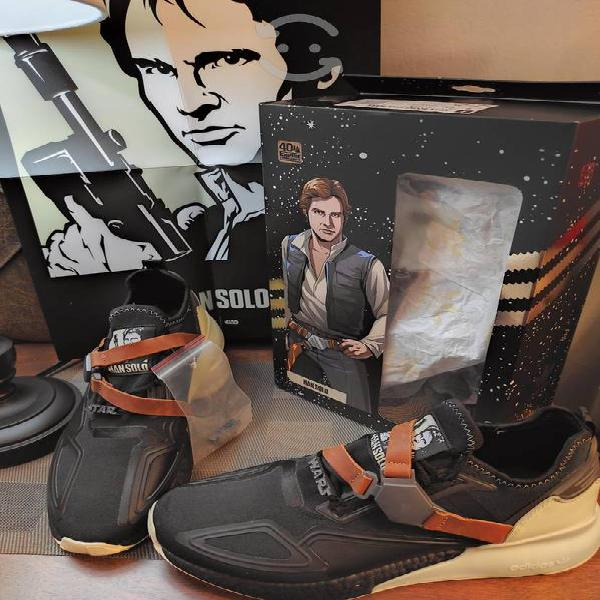 Adidas edición limitada han solo star wars