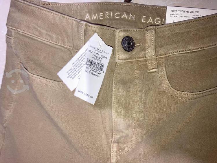 Pantalón american eagle nuevo de mujer