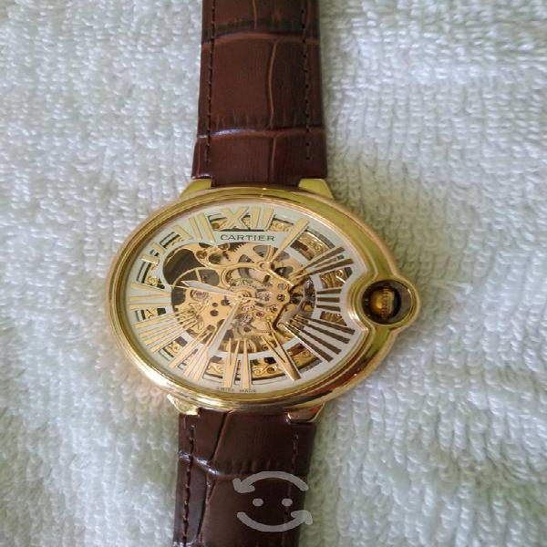 Reloj nuevo marca cartier automático