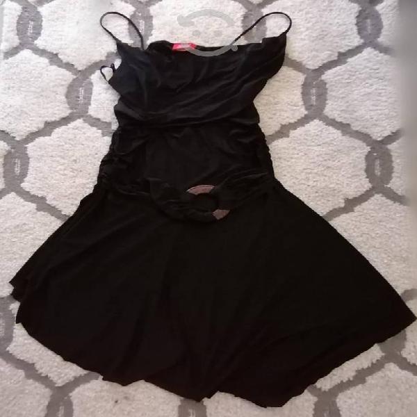 Vestido stretch negro m