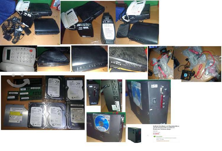 C v nobreak, discos duros, memorias, etc cambio