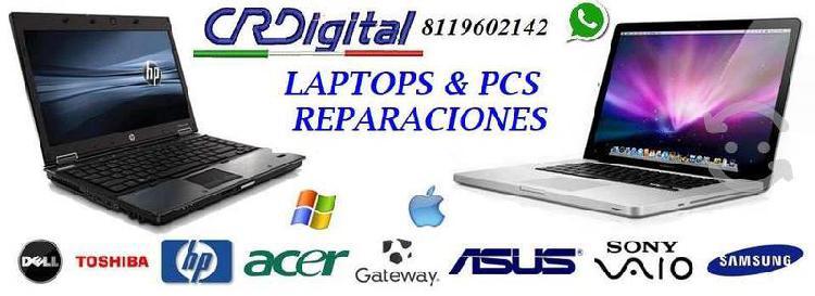 Cr digital venta y reparacion de laptops y pcs