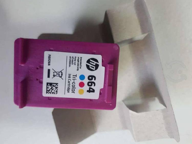 Cartucho de tinta impresoras hp 664 tricolor