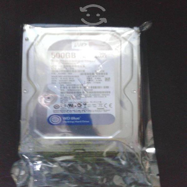 Discos duros 500 gb toshiba, seagate ,samsung