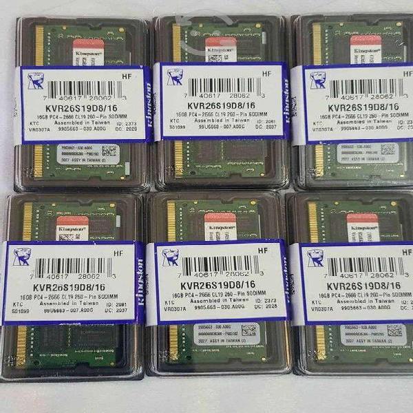 Memorias ram 16gb ddr4 nuevas !!! laptop ¡¡¡