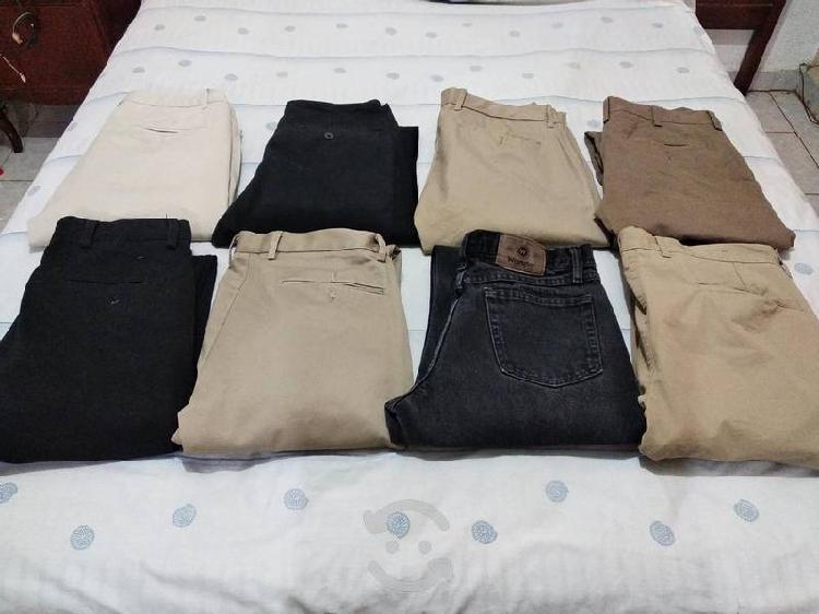 Pantalónes de gabardina