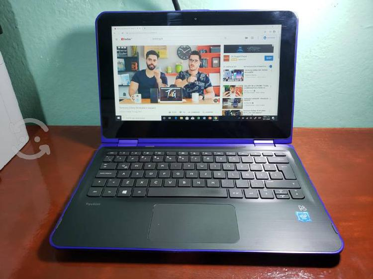 Laptop hp 360, touch, 500gb 4gb