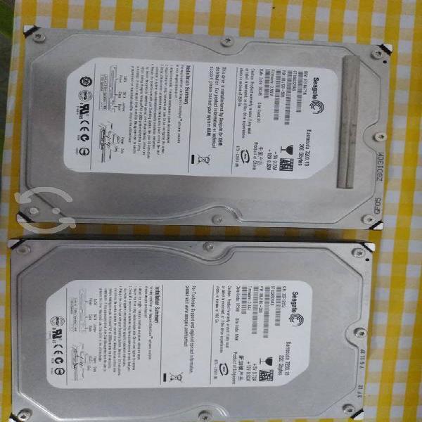 Par de discos duros seagate sata 7200 rpm