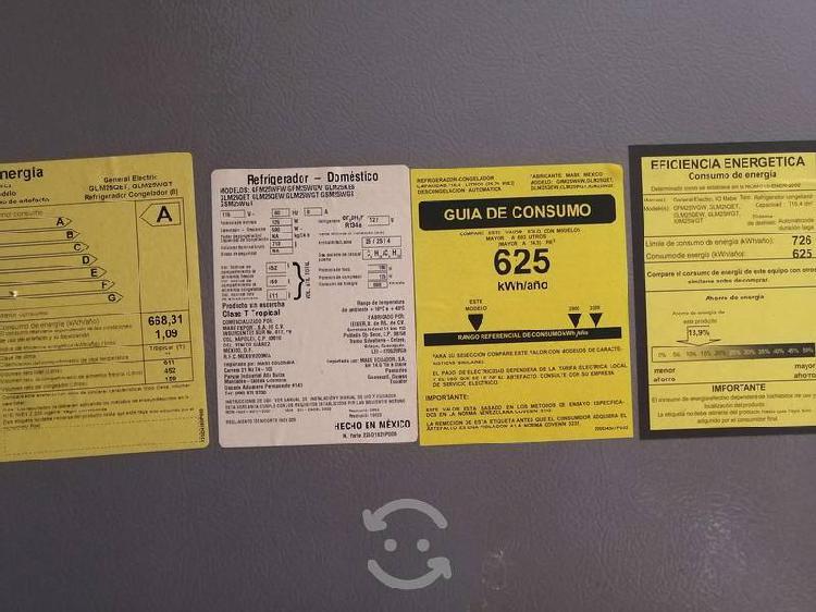 Refrigerador general electric profile serie 409451