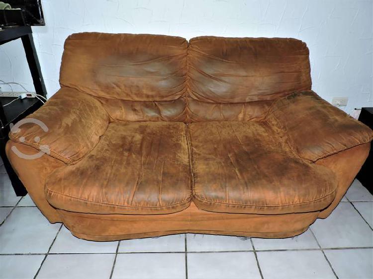 Sala con sillón y love seat