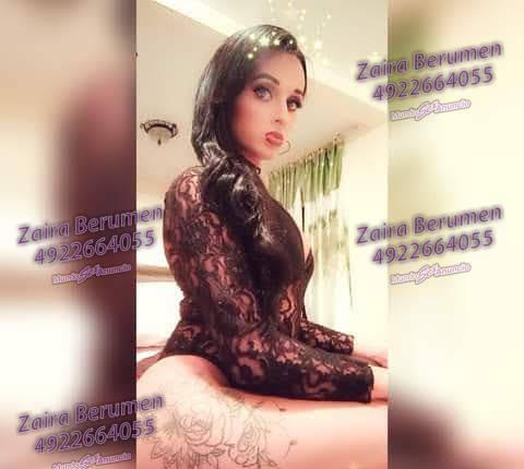 Zaira linda chica transexual femenina y muy linda