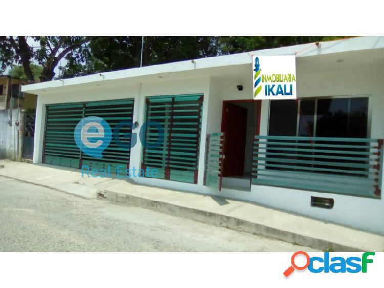 Renta casa para oficinas col. anahuac de tuxpan veracruz, anáhuac