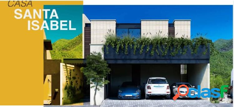 Casa en venta santa isabel carretera nacional santiago nl