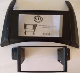 Frentes y adaptadores para instalación de pantallas