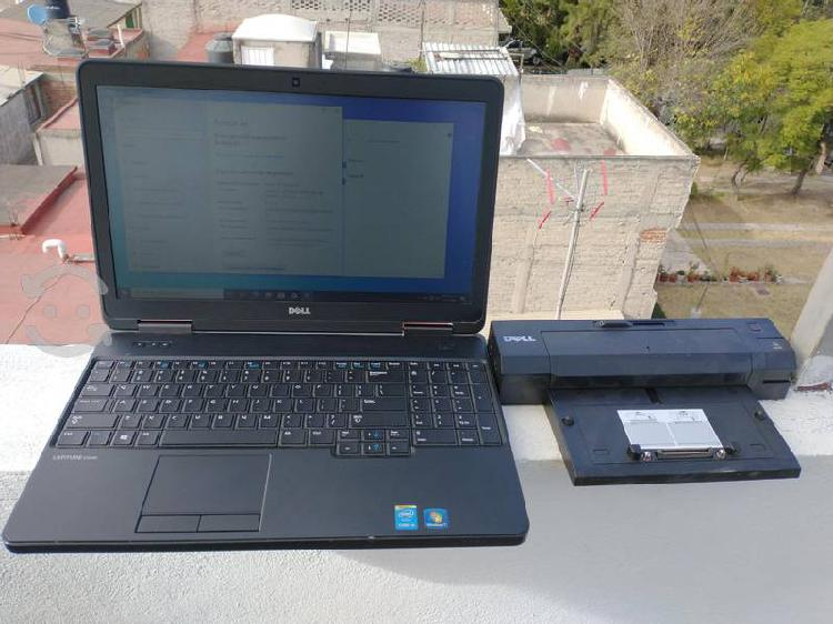 "Laptop dell core i5 15.6"" ssd y docking"