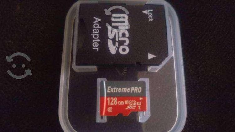 Micro sd 128gb extreme pro clase 10 $430!!!