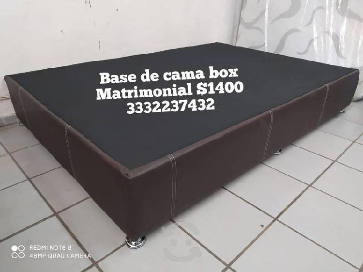 Base box ind$1200 colchón wendy mat $2856