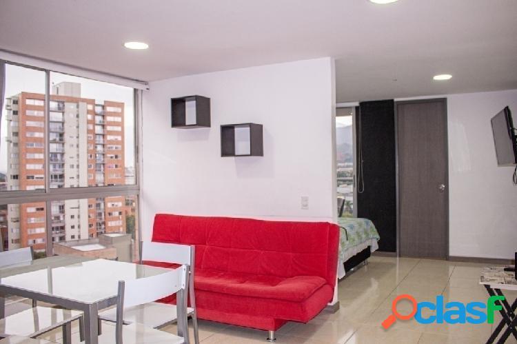 Apartamento Amoblado Piso Alto Aguacatala