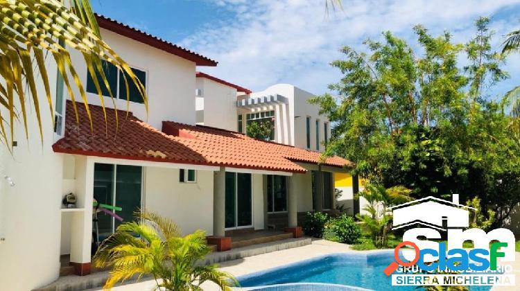 Casa en venta en huatulco, sector o (oax-165)