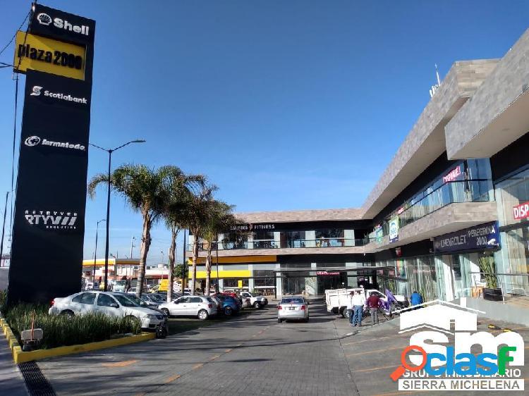 Locales en renta en plaza comercial zona norte (sml-2005)
