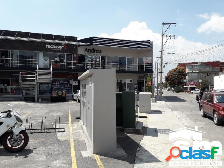 Renta de local ubicado en plaza cu, sobre blvd. valsequillo (sml-2009a)
