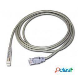 Superior essex cable patch cat6 utp rj-45 macho - rj-45 macho, 2.74 metros, gris