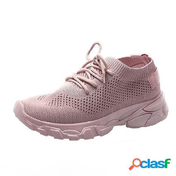 Zapatos para mujer zapatos para correr temporada nuevos zapatos casuales zapatos para correr ligeros zapatos para viajar temporada salvaje calzado deportivo transpirable