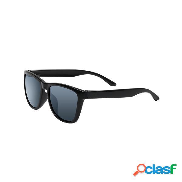 Original xiaomi mijia classic gafas de sol cuadradas autorreparación tac lente polarizadora no scew sunglasse