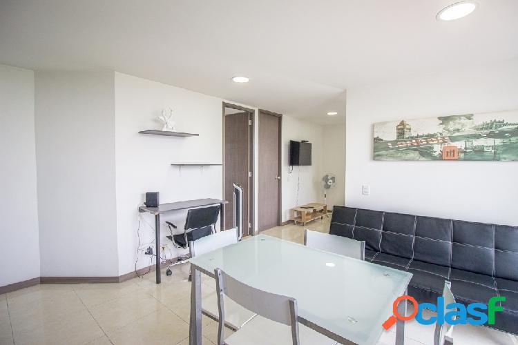 Apartamento amoblado las vegas aguacatala 801