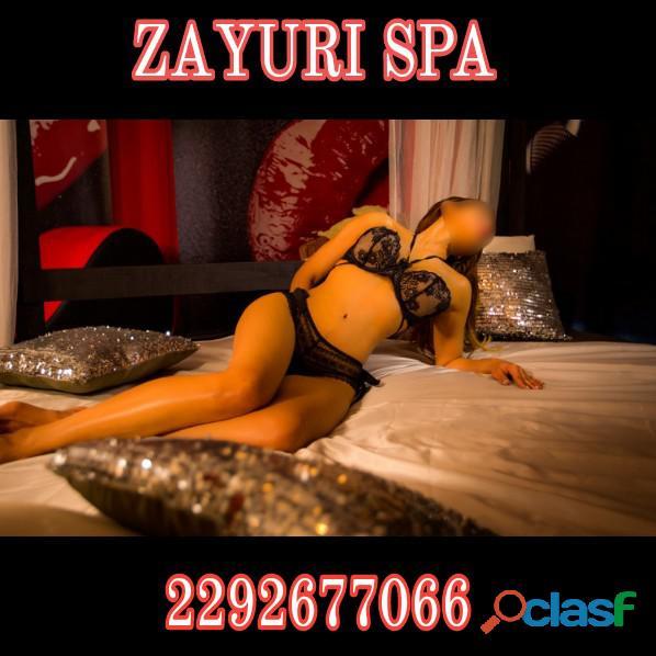 Disfruta de 6 masajistas Eróticas en ZAYURI SPA
